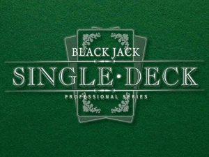 Tek Desteli Blackjack Oyunu (Single Deck Blackjack)