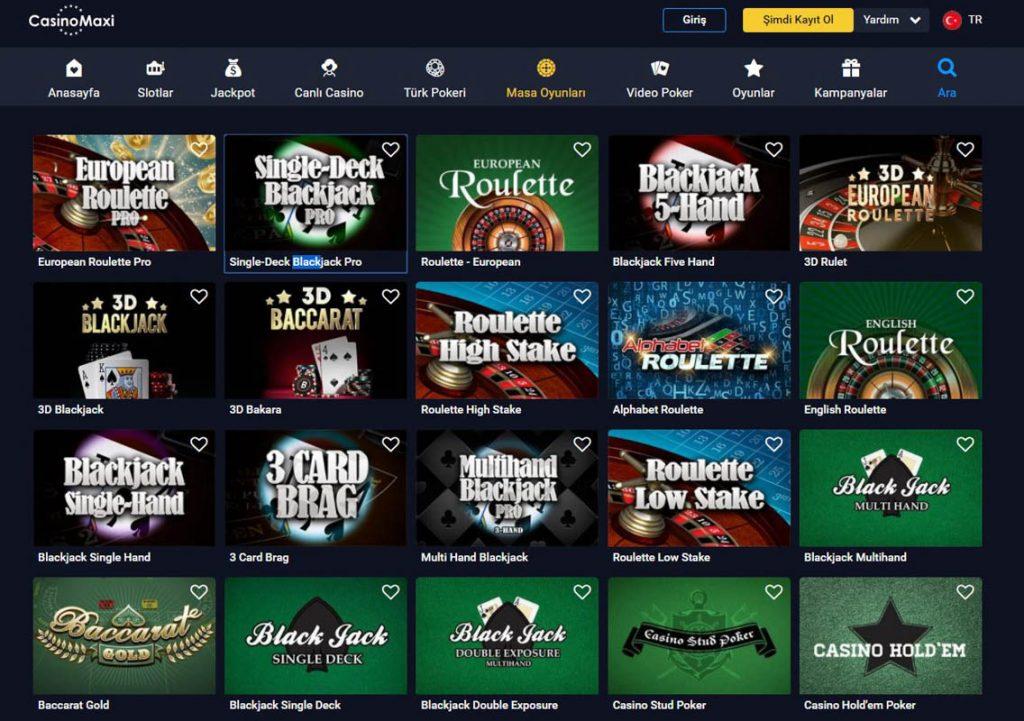 CasinoMaxi Blackjack Güvenilir Mi